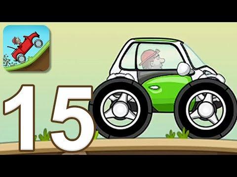 Hill Climb Racing - Gameplay Walkthrough Part 15 - Electric Car (iOS, Android)