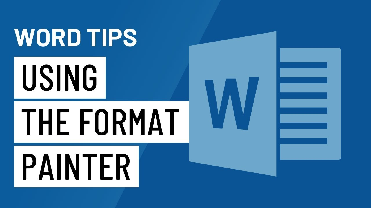 Word Quick Tip: Using the Format Painter