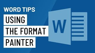 Word Quick Tip: Usİng the Format Painter