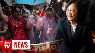 In a snub to China, Taiwan's leader visits US