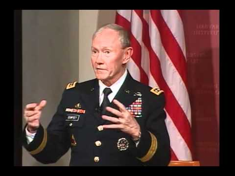 A Public Address by General Martin E. Dempsey, Chairman of the Joint Chiefs of Staff