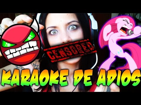 KARAOKE DE ADIOS GEOMETRY DASH - HA LLEGADO A SU FIN!! Patty Dragona