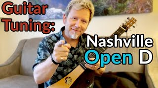 """NASHVILLE OPEN D Tuning - The Who Sell Out - """"Odorono"""" played on a Martin Backpacker"""