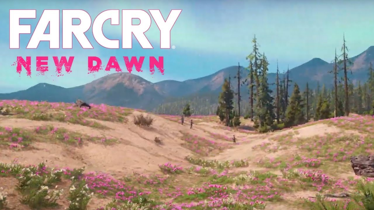 How Big Is The Map In Far Cry New Dawn Walk Across The Map Youtube