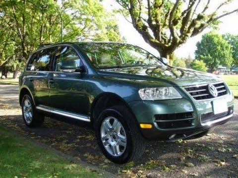 2004 volkswagen touareg v8 walkaround review and test. Black Bedroom Furniture Sets. Home Design Ideas