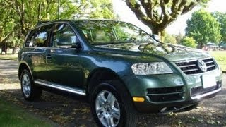 2004 Volkswagen Touareg V8 Walkaround, Review, and Test Drive
