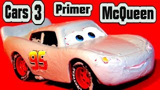 Pixar Cars 3 NEW Primer Lightning McQueen and The Demolition Derby Crazy 8 Cars with Miss Fritter