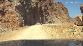 Driving to Balos beach(A gravel road to Balos beach. Recommended for 4-wheel cars., 2011-10-16T12:37:57.000Z)