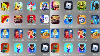 Ice Scream 3,Roblox Evil Nun,Stick War,Scary Granny 3D,Dark Ice Scream,Hay Day,Spongebob,KartRider
