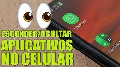 Como ESCONDER OCULTAR Aplicativos no CELULAR Android