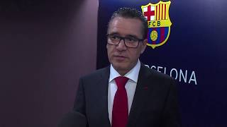 Fc barcelona president josep maria bartomeu revealed the club would have to discuss possibility of leaving laliga if catalonia gained independence from s...