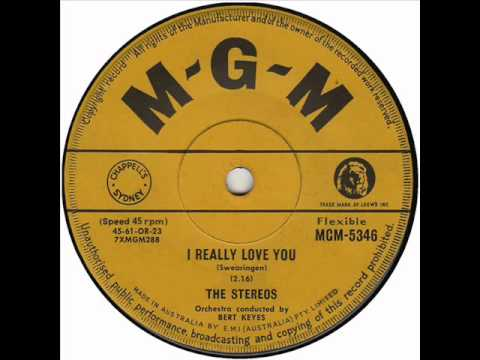 The Stereos I Really Love You 1961 Youtube