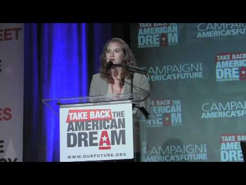 Occupy Wall Street at Take Back the American Dream