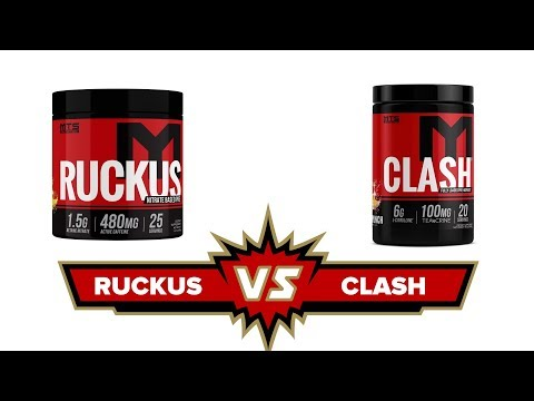 Clash vs. Ruckus Which Pre-Workout is Right For You?   Tiger Fitness