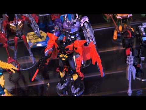 "Toy Fair 2013 Transformers Prime ""Beast Hunters"" Cyberverse"