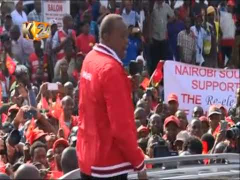 Jubilee Campaigns in Nairobi's South B