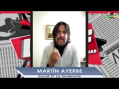 Martín Ayerbe: De esto se sale industrializando la Nación