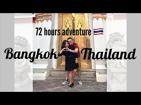 Travel Vlog#7 : Bangkok Thailand | Temples | Food | Shopping | Minks and Macarons 🌸