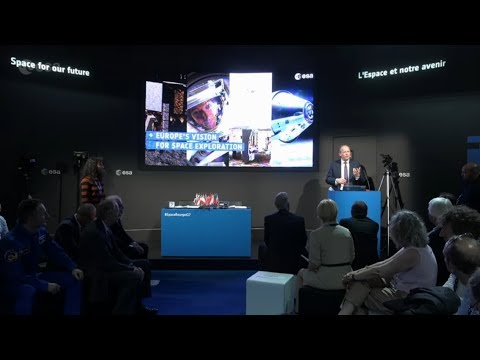 Presenting Europe's new vision for space exploration