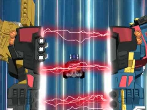 Transformers Energon Optimus Prime with Omega Supreme ...
