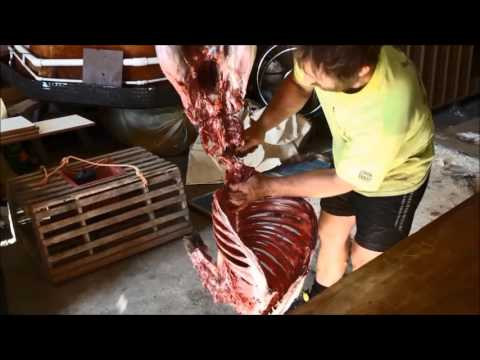 How to process a deer with no waste: Salamis, sausages, steaks,dog food