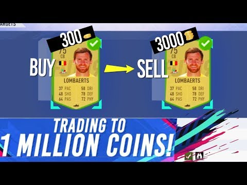 FIFA 19 EASY BIDDING TRADING METHOD - TRADING TO 1 MILLION COINS #3