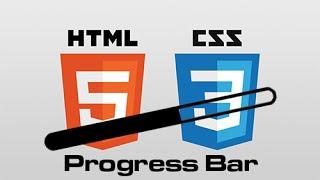 CSS İle Progress Bar (İlerleme Çubuğu) Yapımı