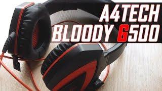 обзор наушников A4Tech Bloody G500