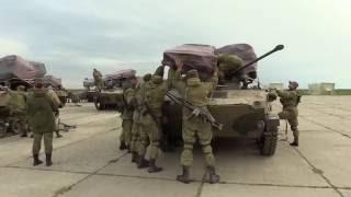 ВДВ России высадка десанта и боевой техники