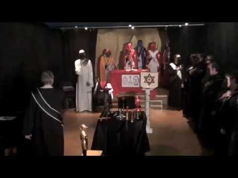 5a. Golden Dawn Ritual Entrance. Qabalistic Roots ...