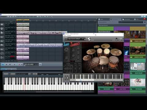 Magix Music Maker 2017 Premium - All The Instruments Together - What a racket!