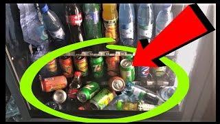 Как обмануть автомат с едой ● Обман автомата с едой