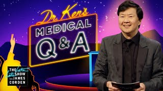 Dr. Ken Jeong Takes Audience Medical Questions