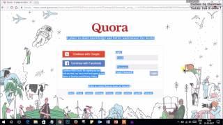 How to delete a Quora Account 2017-2018