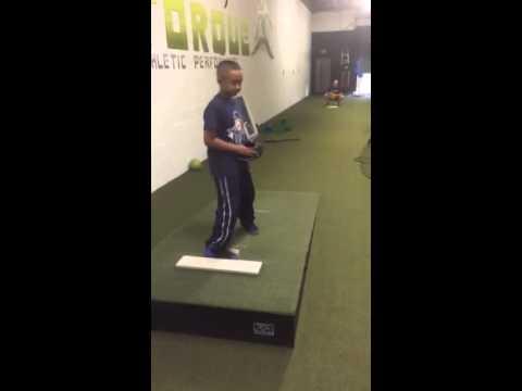 9 year old pitching Justin Praddy