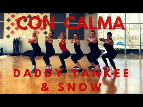 Con Calma Daddy Yankee and Snow Dance Zumba Choreography