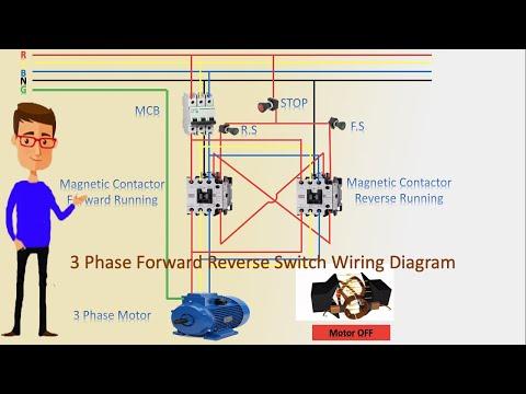 single phase forward reverse wiring diagram  dual electric