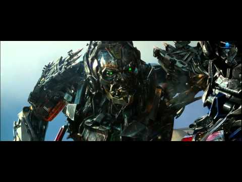 Transformers 4 (2014) Optimus Prime vs Lockdown (HD latino)