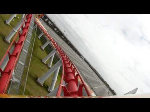 Steel Dragon 2000 POV World's Longest Roller Coaster Nagashima Spaland Japan