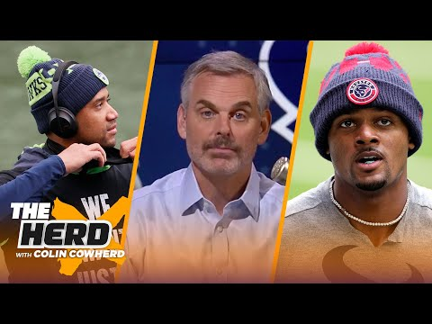 It's time to trade Deshaun Watson, is Russell Wilson Dallas' next QB? — Colin | NFL | THE HERD