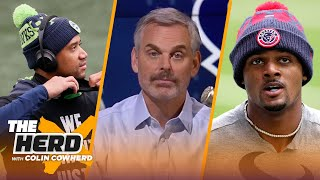 It's time to trade Deshaun Watson, is Russell Wilson Dallas' next QB? - Colin | NFL | THE HERD