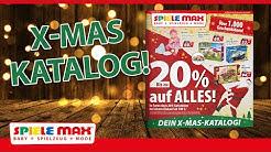 SPIELE MAX Weihnachts-Katalog 2019!