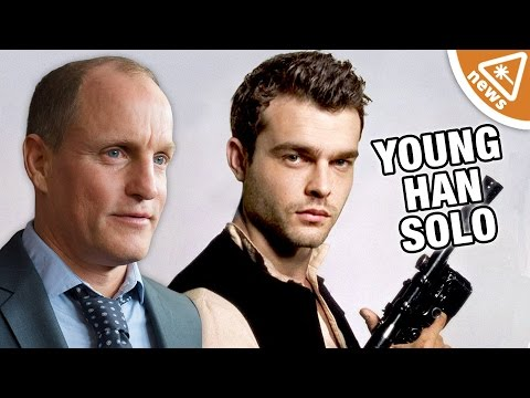 Woody Harrelson's Real Young Han Solo Character Revealed! (Nerdist News w/ Jessica Chobot)