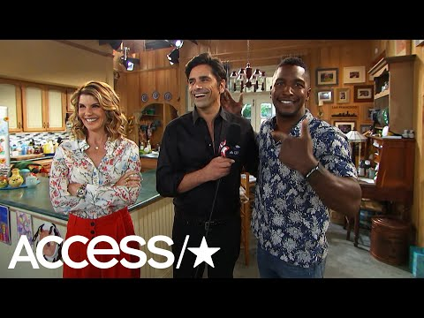 'Fuller House': Lori Loughlin & John Stamos Talk Emmy Love & Fatherhood  Access