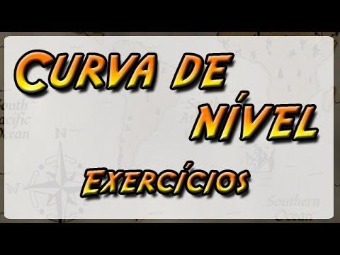 05.2 - Curva de Nível - Exercícios (Geografia Física)