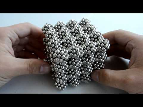 Full Four by Four Bitruncated Cubic Honeycomb Cube (Zen Magnets)