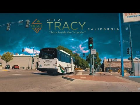 Downtown Tracy California