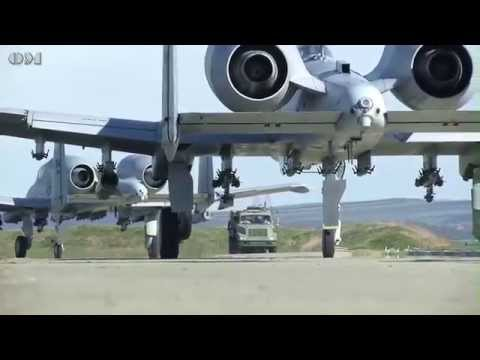 A-10s in Theater Security Package (TSP) Romania - OM 5504