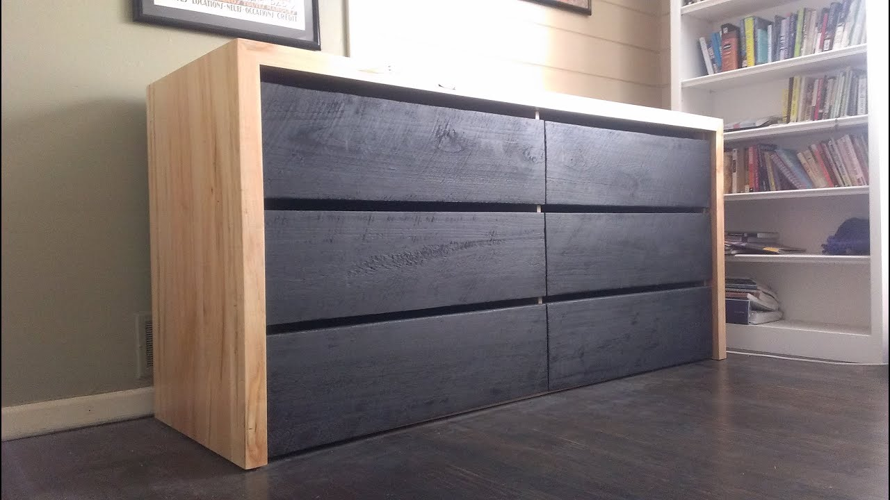 modern dresser build (timelapse)  youtube -