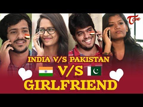 INDIA Vs PAKISTAN Vs GirlFriend | Cricket Fun Video | By Fun Bucket Team